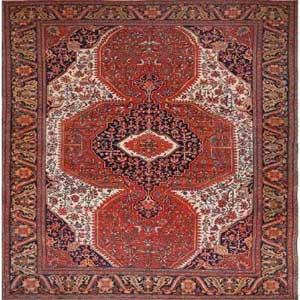 history of handmade rugs in Farahan region