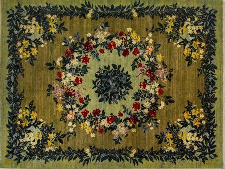 فرش دستباف مدل بهشت