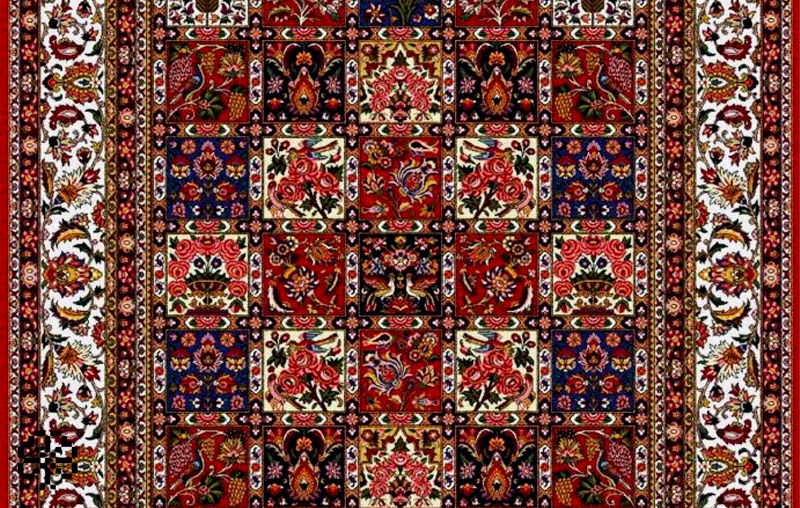 Bakhtiari carpets